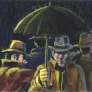 Tres portugueses bajo un paraguas sin contar al muerto