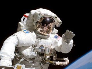 Humanos en el espacio
