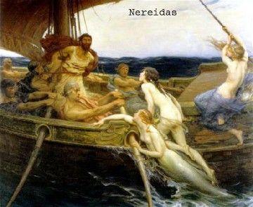 Sirenas y Nereidas