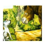 El perro y el asno