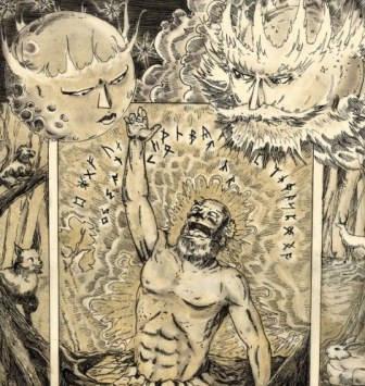Wainamoinen y el gigante Wipunen – Núcleos Narrativos