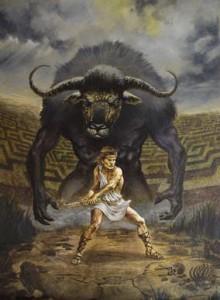 Minotauro-Teseo
