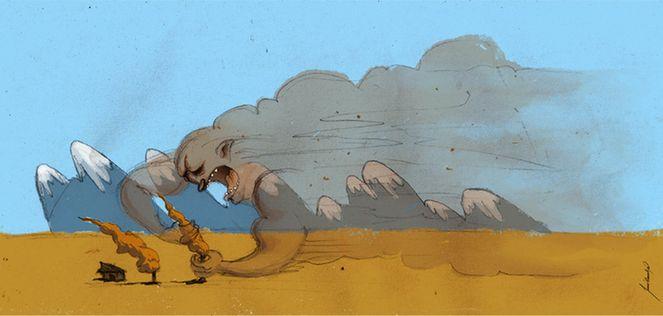 Resultado de imagen para El terrible viento,PACHAMAMA