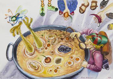 La piedra de hacer sopa