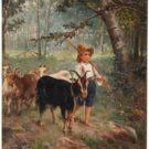 El puma y el pastor